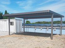 大分県国東町 A様邸 物置設置及びカーポート新設工事