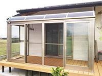 テラス、ガーデンのリフォーム事例です。