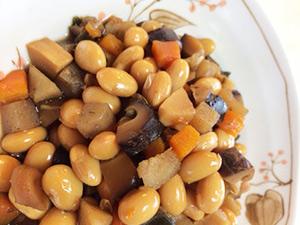 煮豆もやわらかくふっくら