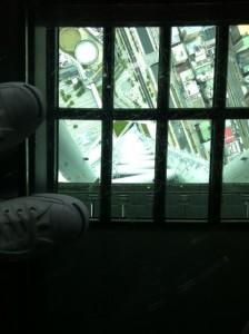 東京スカイツリー上から撮影した風景