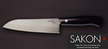 SAKON+の三徳包丁