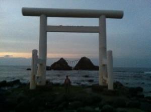 福岡県糸島市二見ヶ浦