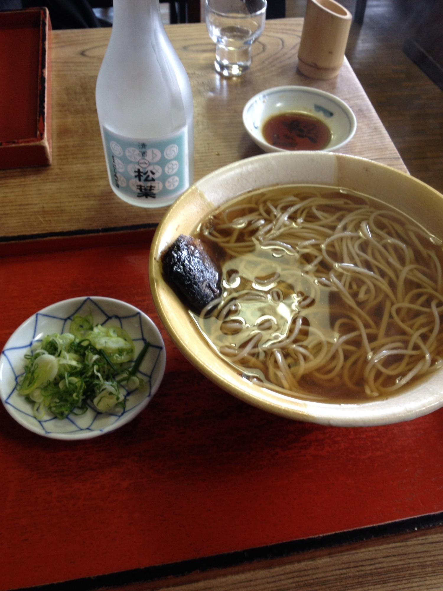 京都でにしん蕎麦を堪能
