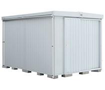 イナバ物置 縦長大型物置 縦長で収納スペースが広い