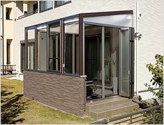 ガーデンルーム(エクステリア) ココマ ガーデンルーム腰壁タイプ