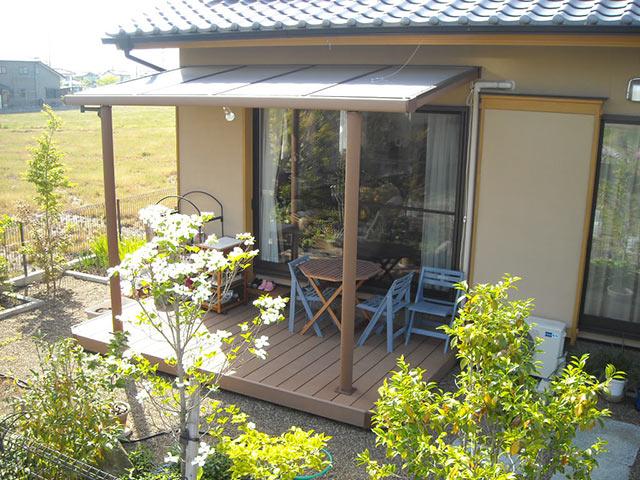 ガーデンテラスの施工事例
