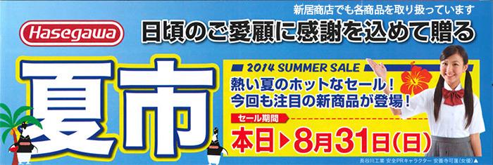 Hasegawaのはしごの脚立キャンペーン中