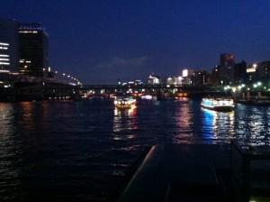 絶景の夕涼み