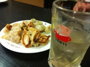 一口餃子の店 雲龍亭に行ってきました。