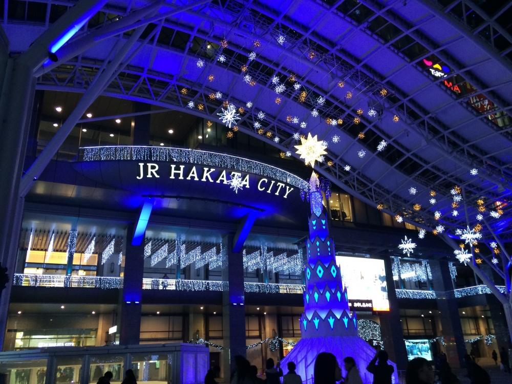 JR博多CITY イルミネーション
