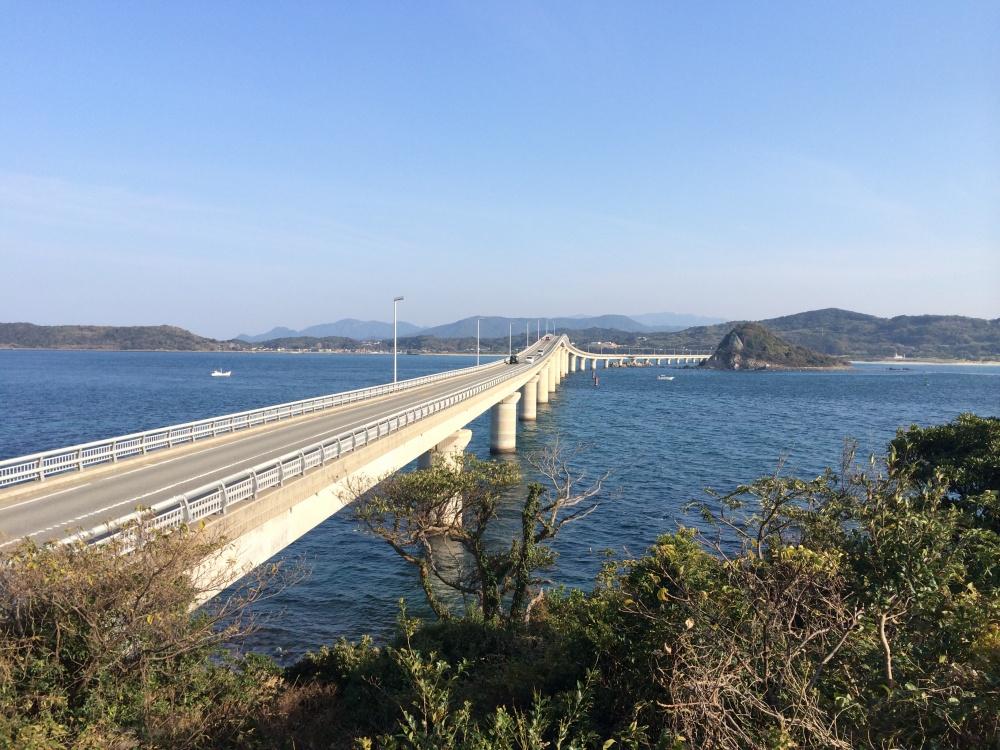 角島大橋からの景色は絶景です!