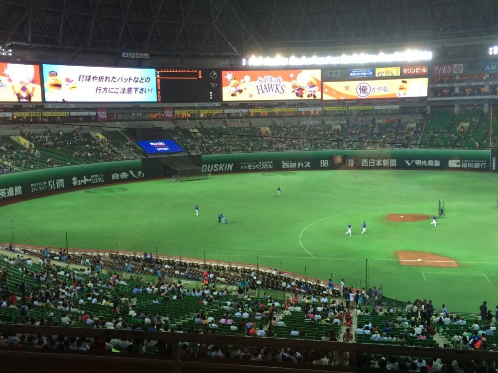 プロ野球観戦!