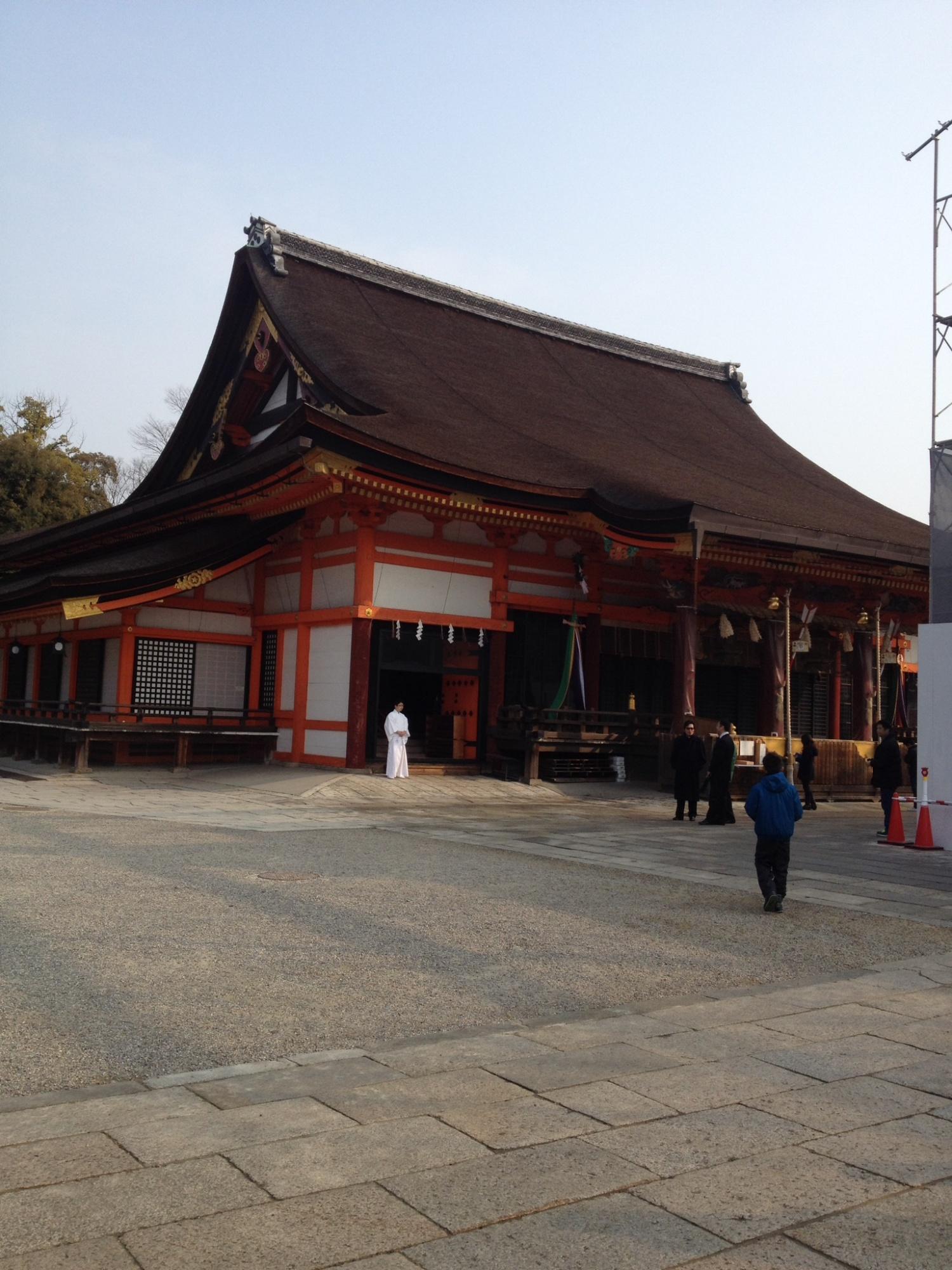 祇園祭の聖地、八坂神社に行ってきました