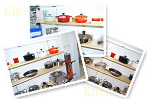 鍋、圧力鍋は大分県中津市の新居商店で多数販売しております