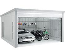 イナバ物置 高級ガレージ