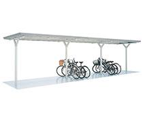 イナバ物置 イナバ自転車置き場 横に広い
