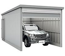 イナバ物置 イナバガレージは車庫として利用できます