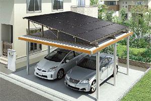 ソーラーパネルは標準15枚