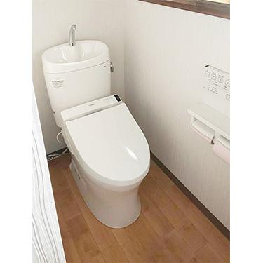 大分県中津市T様邸トイレのリフォームを行いました。